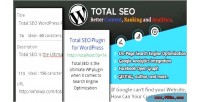 Seo total for wordpress
