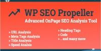 Seo wp propeller tool advanced analysis seo