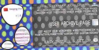 Sitemap users plugin wordpress archive