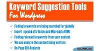 Suggestion keyword wordpress for tools