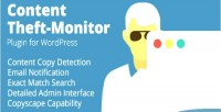 Theft content monitor wordpress for plugin