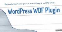 Wdf wordpress plugin