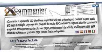 Wordpress xcommenter auto plugin seo comment