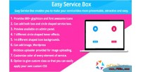 Service easy box shortcode