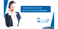 Simple twilio click call