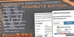 Social advanced edition feedblitz widget