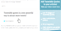 2.0 tweetdis tweetable tweets embed quotes