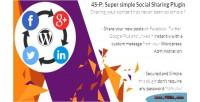 4s p super simple plugin sharing social