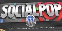 Socialpop a social media wordpress for plugin