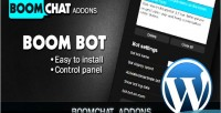 Addons boombot for edition wordpress boomchat
