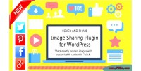 And hover share wordpress for images