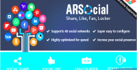 Arsocial all in one plugin share social