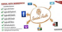Auth social wordpress plugin