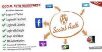 Auth social wordpress plugin