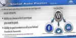 Auto social plugin wordpress poster