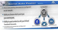 Auto social plugin wordpress poster