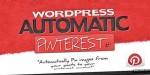 Automatic pinterest plugin wordpress pin
