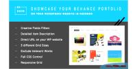 Behance bedojo works plugin portfolio wordpress