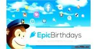 Birthdays epic plugin wordpress social