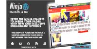 Blog inside plugin bar ninja