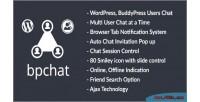 Buddypress wordpress plugin chat users