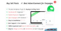 Buy sell posts on plugin wordpress fanpages