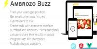Buzz ambrozo plugin tests quiz