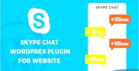 Chat skype website for plugin