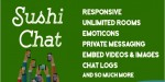 Chat sushi responsive wordpress for chat