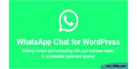 Chat whatsapp wordpress
