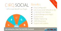 Cirq social & feature wordpress for linking