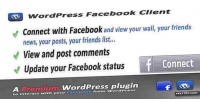 Client facebook for wordpress