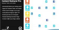 Content wp resharer pro