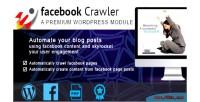 Crawler facebook for wordpress