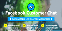 Customer facebook chat live customizable wordpress for chat