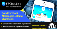 Customer fb chat responses plugin autowelcome with