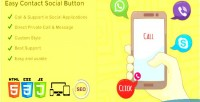 Easy ecsb button social contact