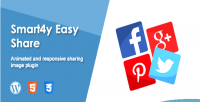 Easy smart4y share plugin wordpress responsive