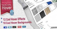 Easy wp social hover