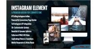 Element instagram cornerstone wordpress for element