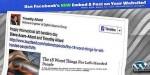 Embedded facebook shortcode wordpress posts