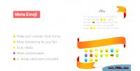 Emoji custom funny emoji emoticon on your post plugin wordpress page emoji