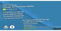 Facebook easy fanpage builder promotion and