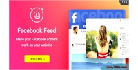 Facebook wordpress plugin widget feed facebook