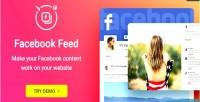 Facebook wordpress plugin widget feed facebook