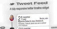 Feed tweet wordpress widget timeline twitter