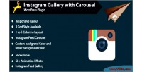 Gallery instagram with wordpress for carousel