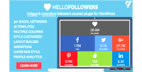 Hello followers social counter wordpress for plugin