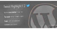 Highlight tweet shortcode wordpress tweetable