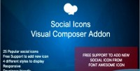 Icons social addon composer visual